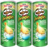 Чипсы Pringles со вкусом сметаны и лука 165г