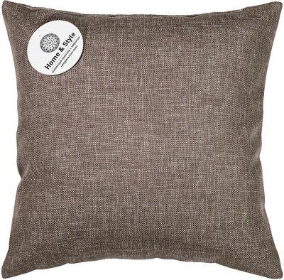 Подушка-думка Home&Style рогожка Шоколад 40*40см