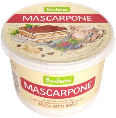 Сыр Bonfesto Маскарпоне 78% 500г