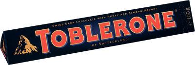 Шоколад Toblerone Темный с медово-миндальной нугой 100г