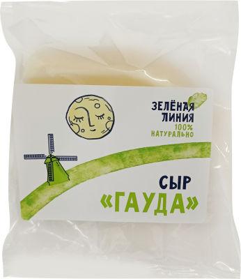 Сыр Маркет Зеленая линия Гауда 45% 0.2-0.3кг