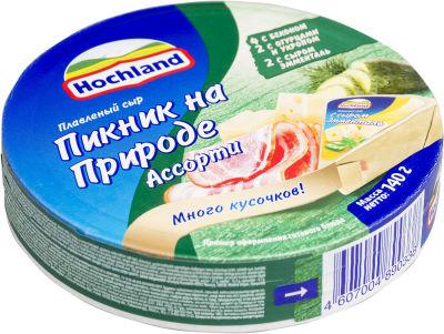 Сыр плавленый Hochland Пикник на природе 55% 140г