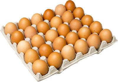 Яйца С1 30шт цвет в ассортименте