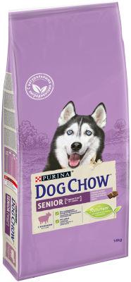 Сухой корм для собак Dog Chow Senior 9+ с ягненком 14кг