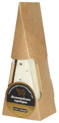 Сыр Мамонтоваская Сыроварня С лавандой 45% 150г
