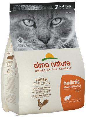 Сухой корм для кошек Almo Nature с курицей и рисом 2кг