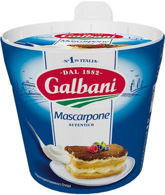 Сыр Galbani Mascarpone 80% 250г
