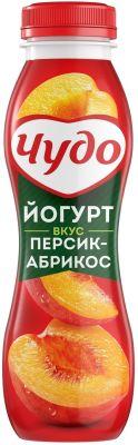 Йогурт питьевой Чудо Персик-Абрикос 2.4% 270г