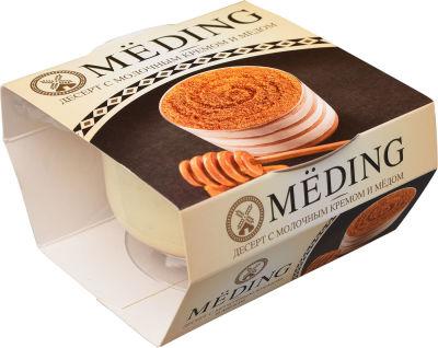 Десерт Mёding с молочным кремом и медом 9.7% 85г