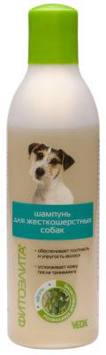 Шампунь для собак Veda Фитоэлита для жесткошерстных 220мл